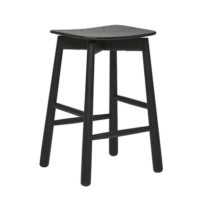Root Barstool in Black Onyx