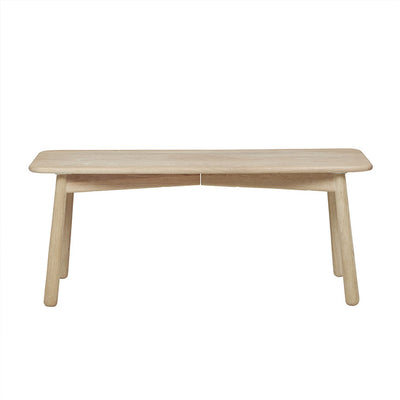 Light Oak Root Bench