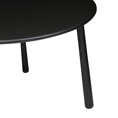Root Round Dining Table in Black