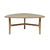 Sandalo Triangular Dining Table