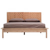Seed Leather Queen Bed