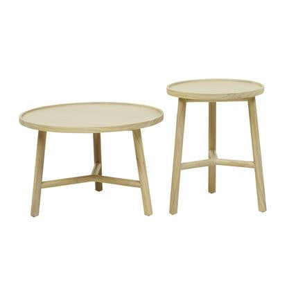 Seed Round Set of 2 Side Tables