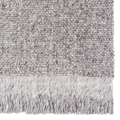 Skagen Fringe Rug in Grey by Tribe Home