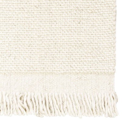 Skagen Fringe Rug in Ivory by Tribe Home