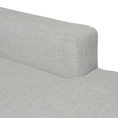 Slipcover Right Chaise in Dove