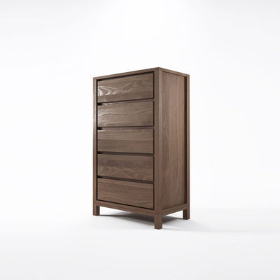 Solid Chest 5 Drawers in Reclaimed Teak