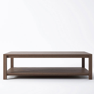 Solid Coffee Table in Reclaimed Teak