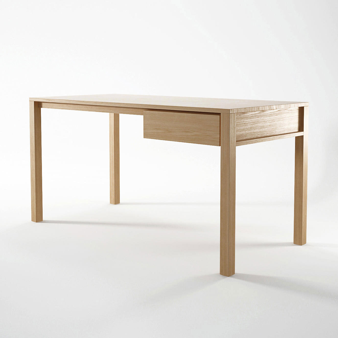 Solid Desk in European White Oak
