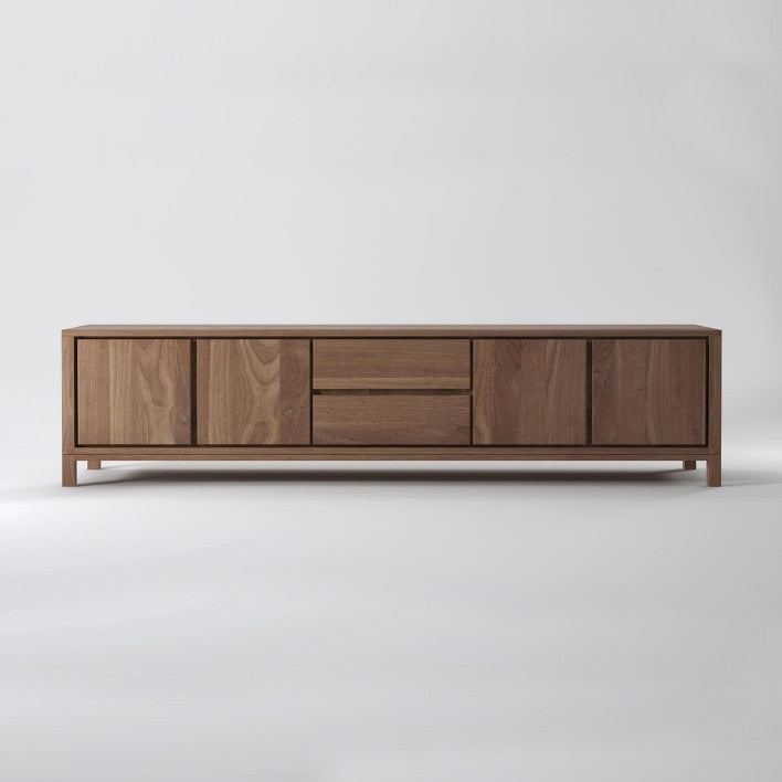 Solid 4 Door 2 Drawer Sideboard
