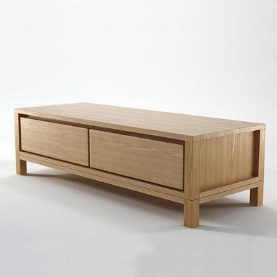 Karpenter Solid Entertainment Unit European White Oak
