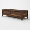 Karpenter Solid Entertainment Unit American Black Walnut