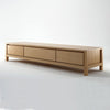 Solid Entertainment Unit European White Oak