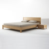 Karpenter Solid Queen Bed Oak
