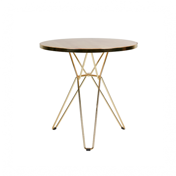 Spice Cafe Table - Metallic