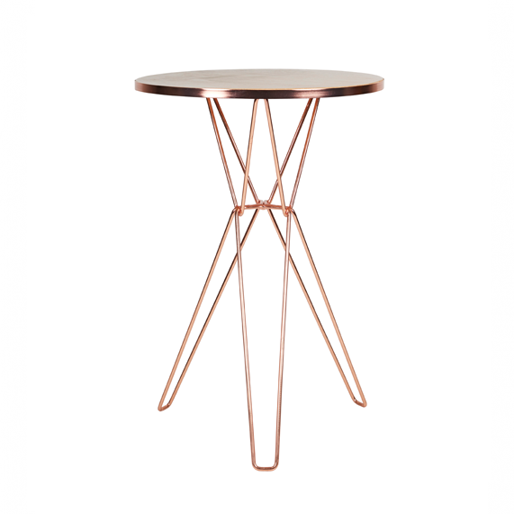 Spice Bar Table - Metallic