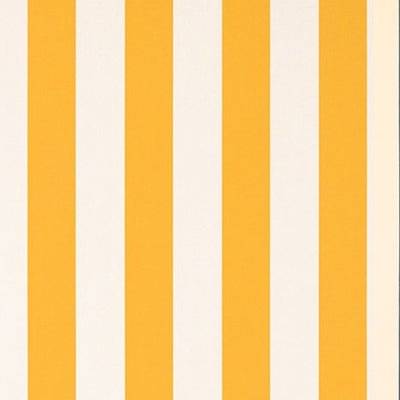 Deckchair with Arms (Teak) - Sunbrella Yellow/White Block Stripe