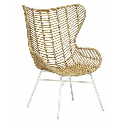 Tango Butterfly Occasional Chair in Natural/White