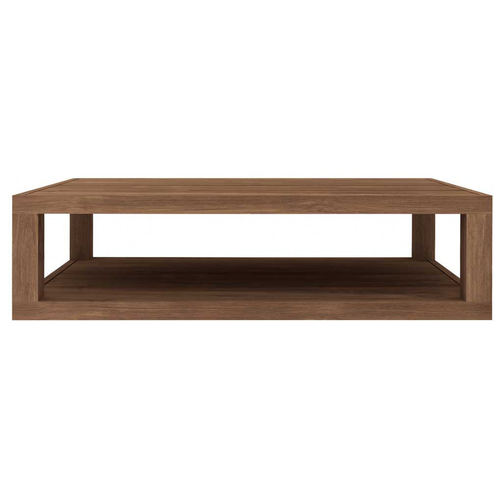 Teak Burger Coffee Table: Occasional Tables