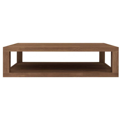 Teak Duplex Coffee Table - Rectangular