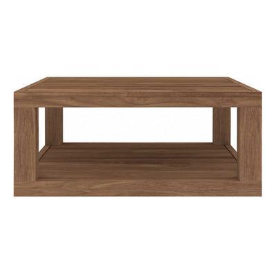 Teak Duplex Coffee Table - Square