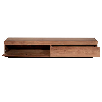 Teak Burger Entertainment Unit 210cm