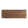 Teak Burger Sideboard 5 Doors 3 Drawers