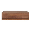 Teak Burger Coffee Table - Square