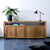 Teak Double Sideboard 4 Doors