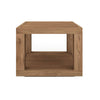 Teak Duplex Side Table