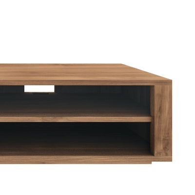Teak Elemental Entertainment Unit 1 Drawer