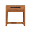 Teak Light Frame Bedside Table