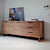Teak Light Frame Sideboard 3 Doors 3 Drawers