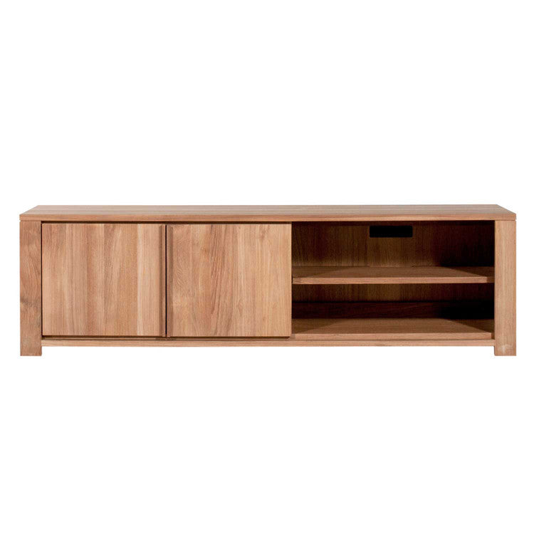 Teak Lodge Entertainment Unit 160cm