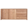Teak Lodge Sideboard 2 Doors 3 Drawers