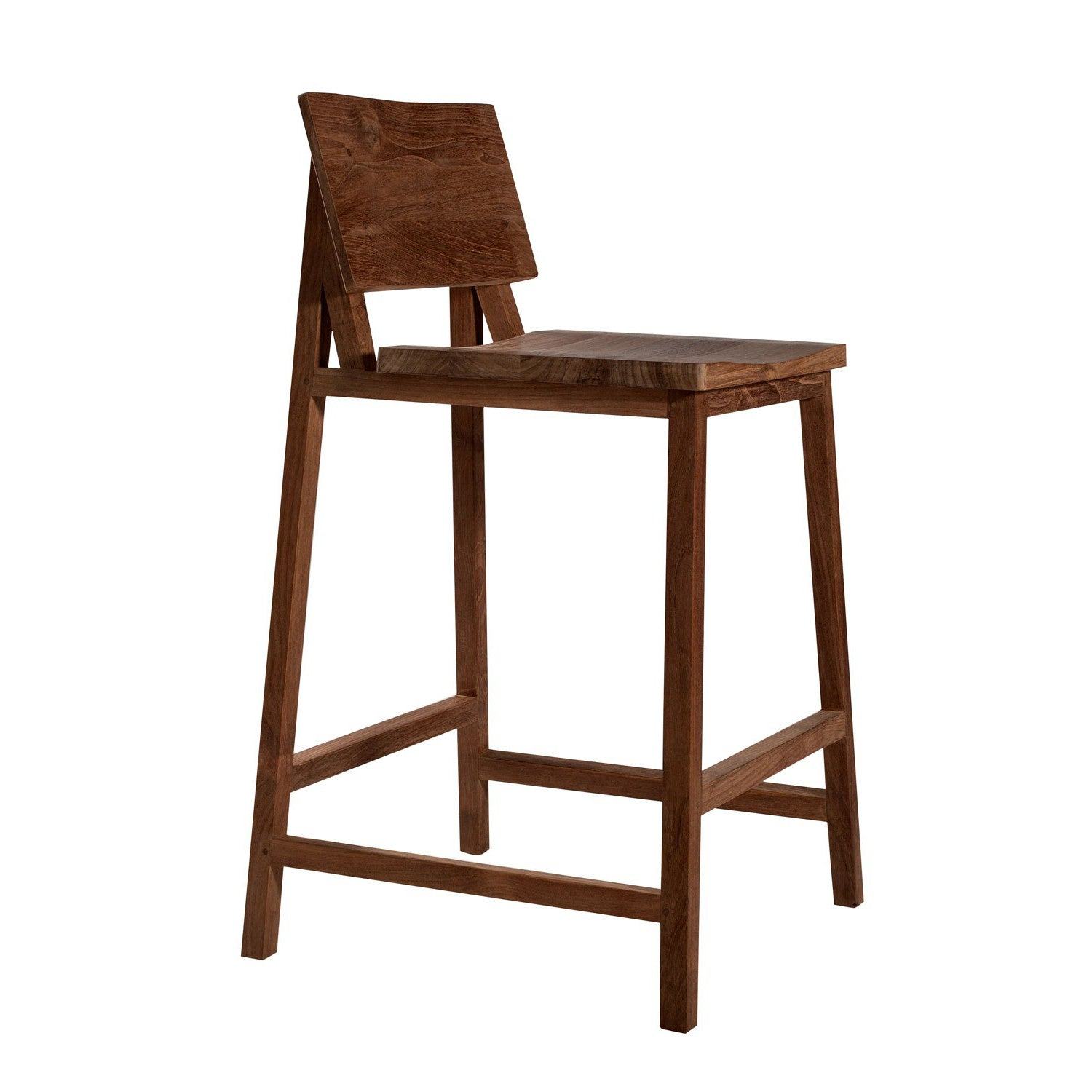 Teak N3 Kitchen Counter Stool