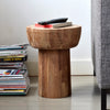 Teak Pop Side Table