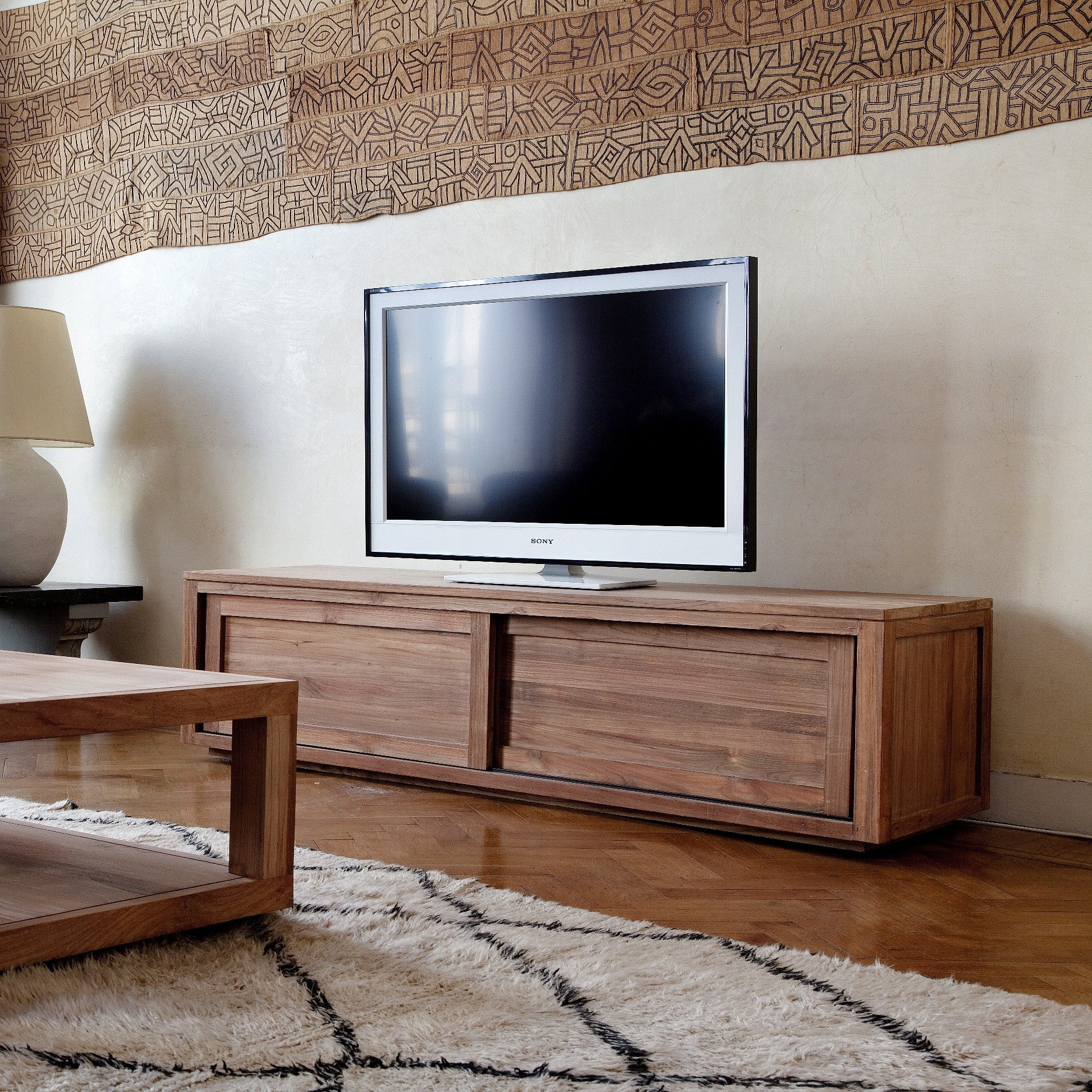 Teak Pure Entertainment Unit