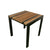 Teak SS Side Table