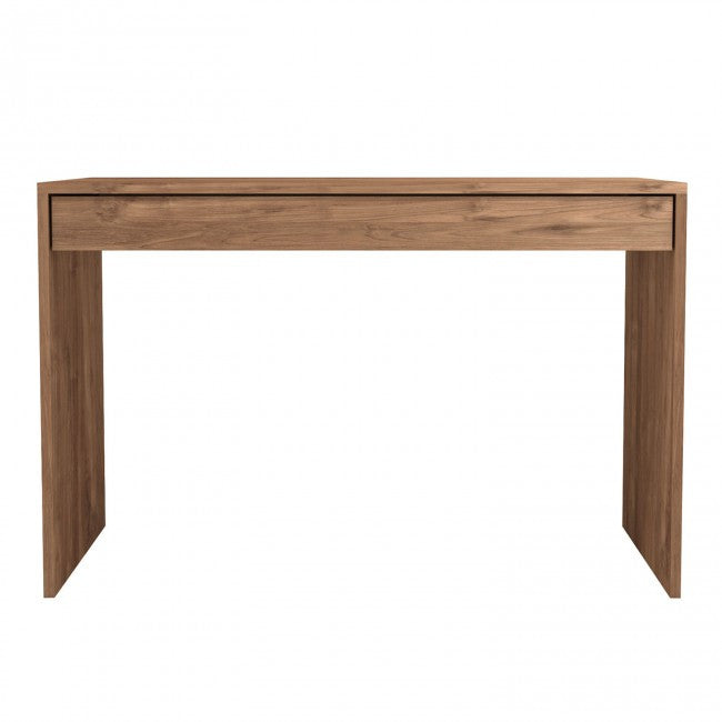 Teak Wave Office Console