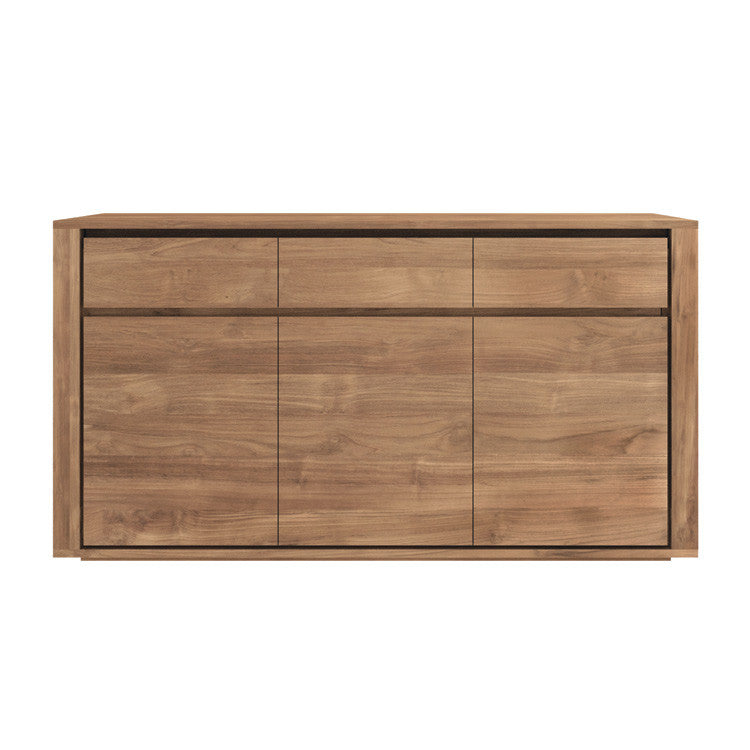 Teak Elemental Sideboard 3 Doors 3 Drawers