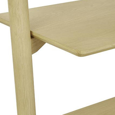Sketch Tosta Leaning Shelf Light Oak