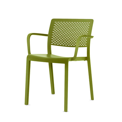 Resol Trama Armchair Olive Green