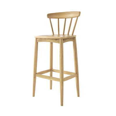 Karpenter Twist Barstool - European White Oak