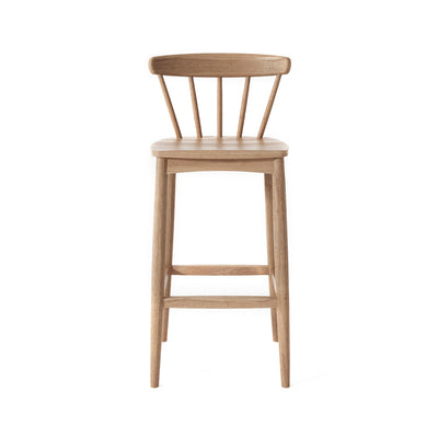 Karpenter Twist Barstool - Reclaimed Teak