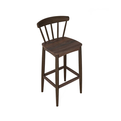 Karpenter Twist Barstool - American Black Walnut
