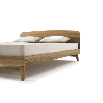 Kapenter Twist Bed - European White Oak