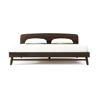 Kapenter Twist Bed - American Black Walnut