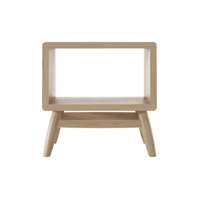 Karpenter Twist Bedside Table - European White Oak