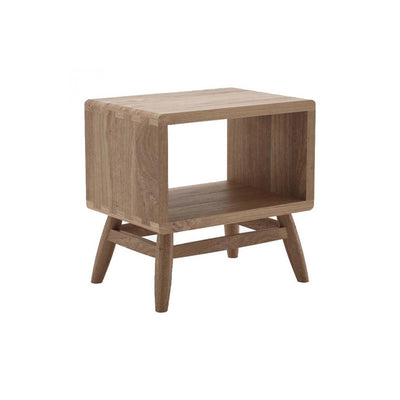 Karpenter Twist Bedside Table - Reclaimed Teak