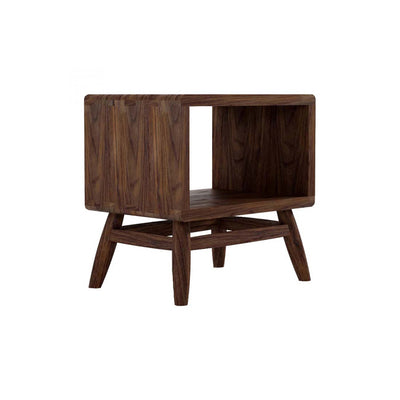 Karpenter Twist Bedside Table - American Black Walnut